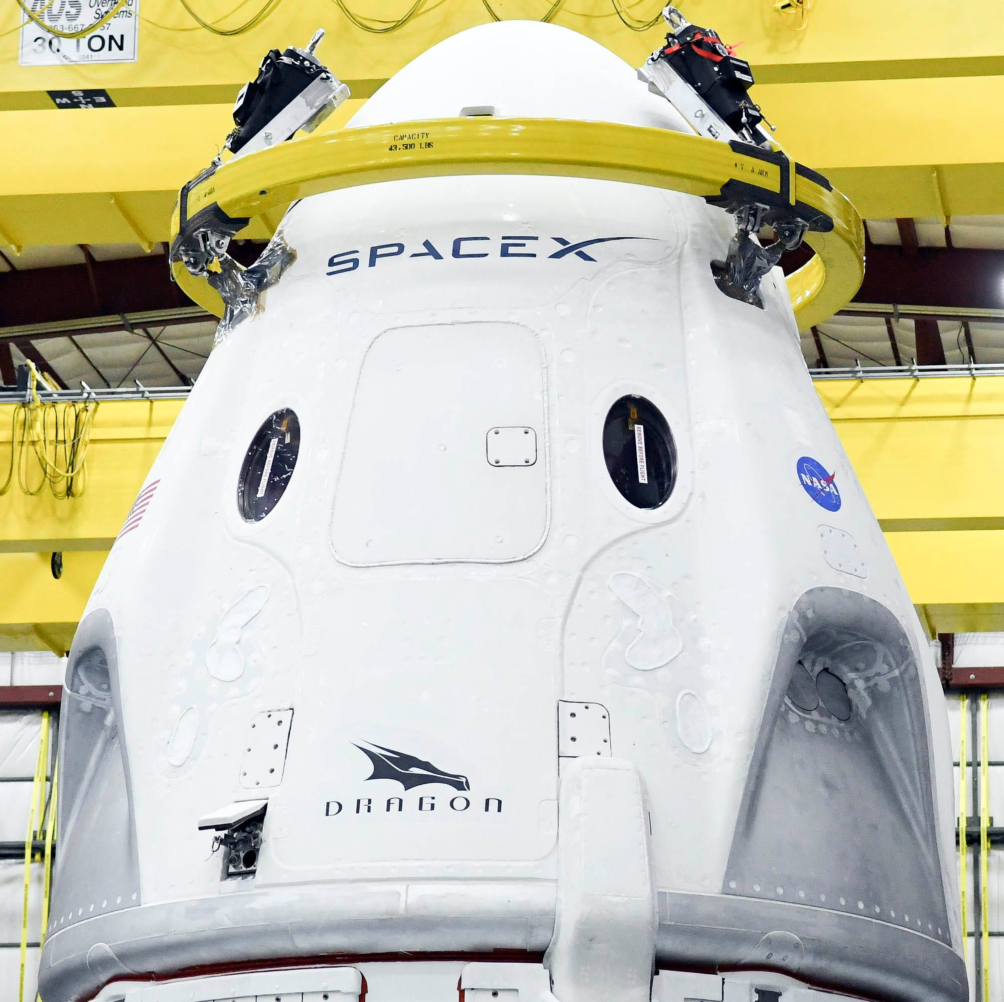 SpaceX targeting March launch of Crew Dragon test flight from KSC