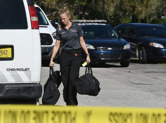 Police are investigating a fatal shooting at the Country Garden II condominium complex in Palm Bay on Tuesday. Several friends and relatives of the victim were gathering near the scene at Club Gardens Drive and Par Street .