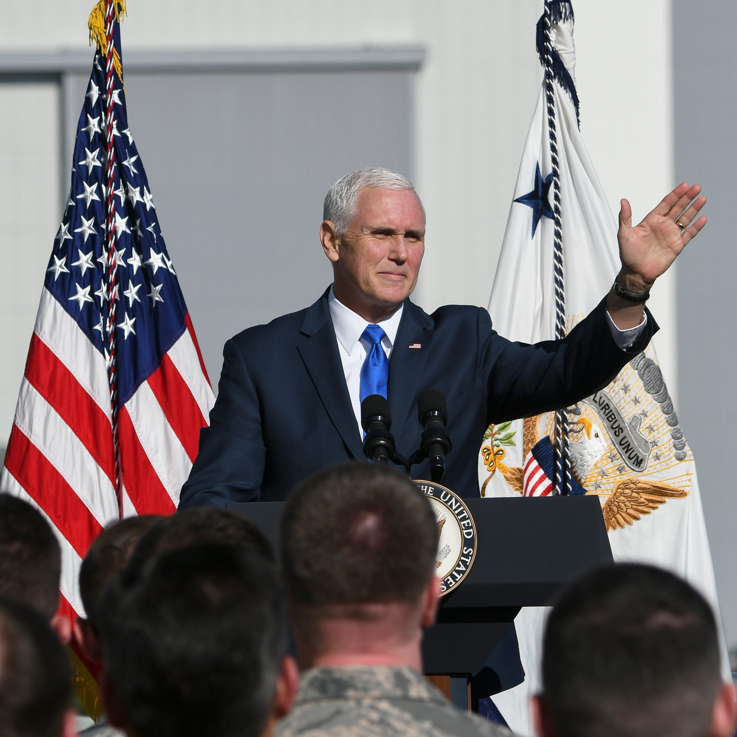 Pence at KSC: New U.S. Space Command to oversee military space operations