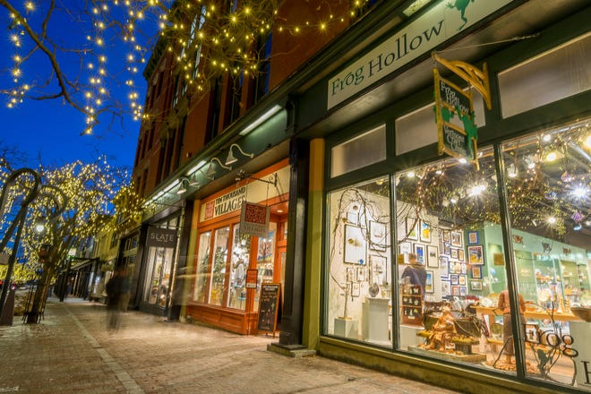 Buying at locally-owned businesses keeps money close to home.