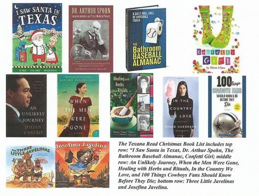 Christmas Book List Graphic