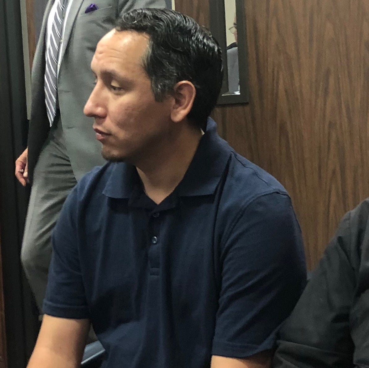 Former Corpus Christi City Council candidate Eric Tunchez appears in court for felony case