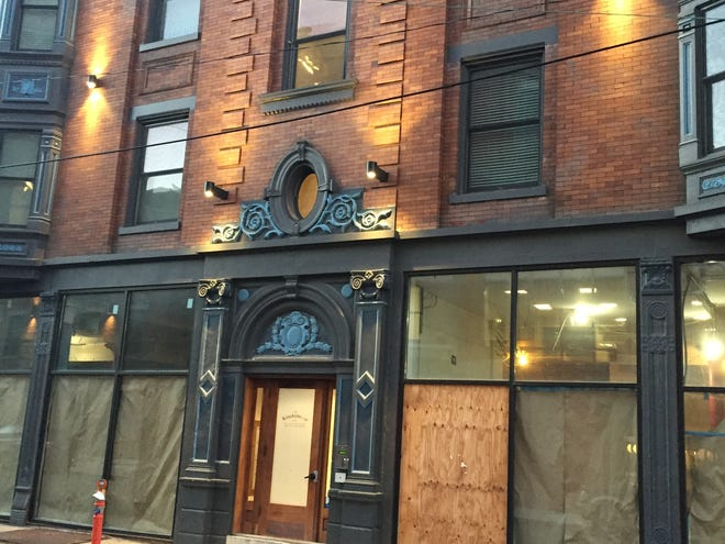 The building at 1501 Vine St. that Thunderdome Restaurant Group is turning into an Italian restaurant