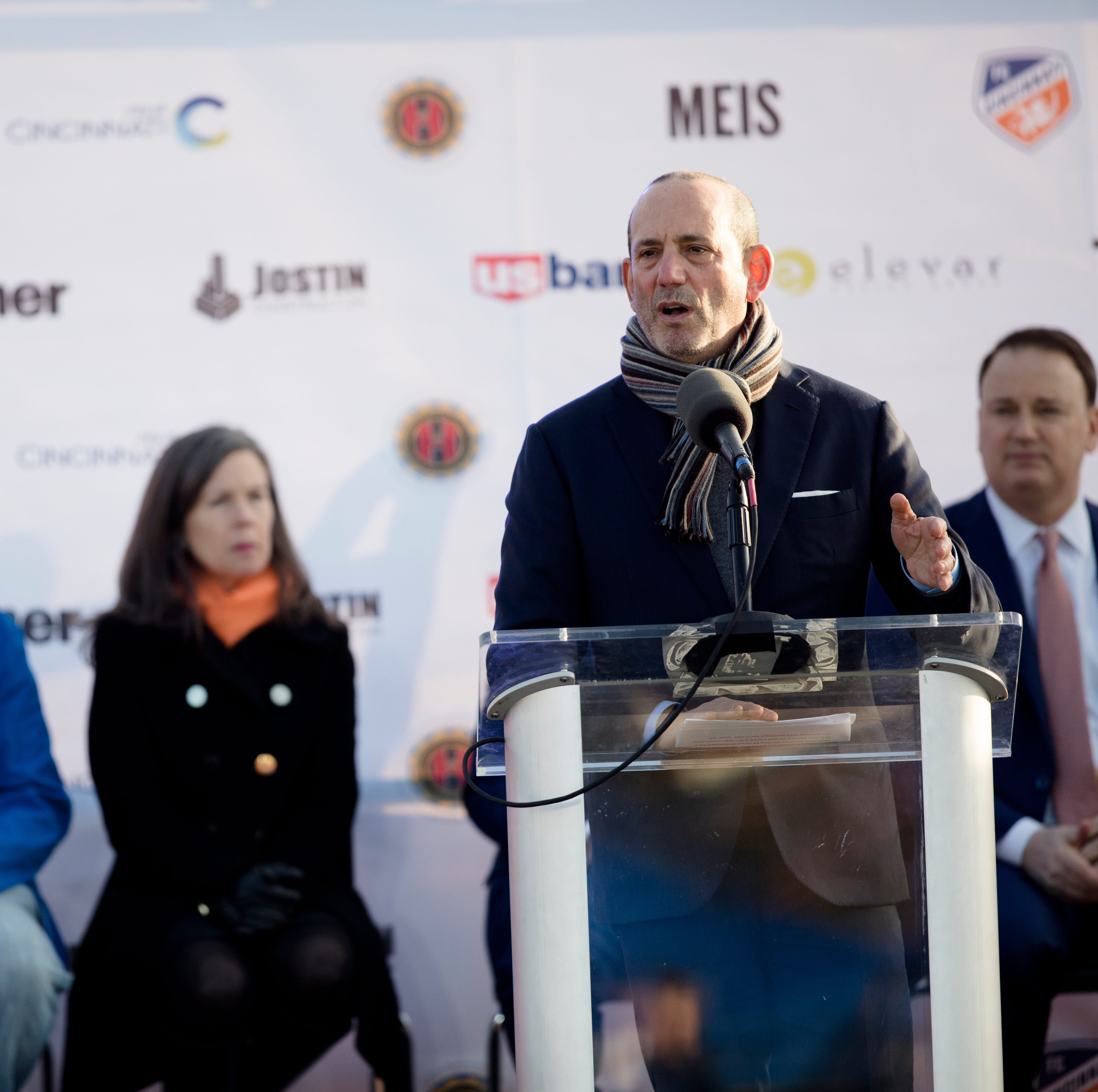 MLS Commissioner Don Garber: FC Cincinnati stadium project 'the rebirth of a community'