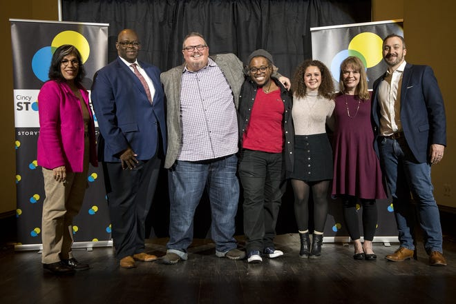 The Cincinnati Enquirer hosts Cincy Storytellers: Food and Family at the Transept Tuesday, November 27, 2018 in Cincinnati, Ohio.