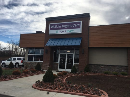 Urgent Team walk-in clinic has opened a second Clarksville, Tenn., location in St. Bethlehem.