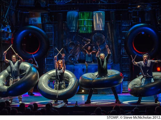 STOMP at State Theatre New Jersey in January PHOTO CAPTION