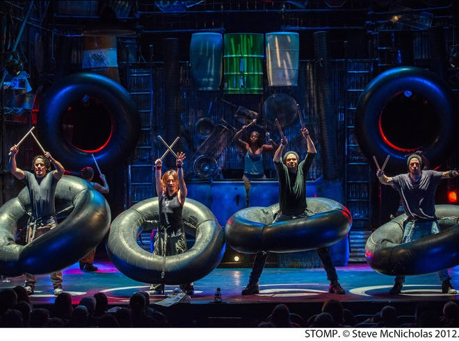 State Theatre New Jersey New Brunswick will present the return of STOMP for three performances at 8 p.m. on Friday, Jan. 11, and 2 and 8 p.m. on Saturday, Jan. 12.