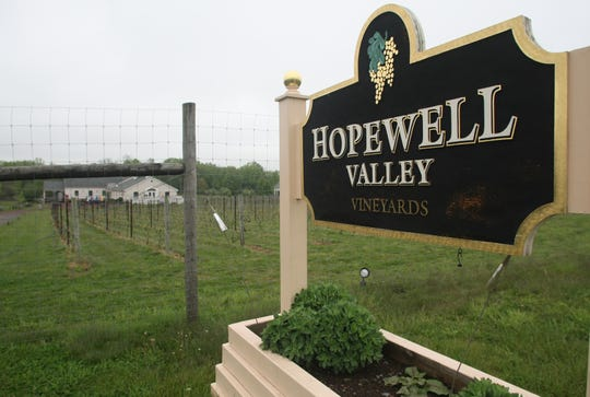 Hopewell Valley Vineyards.