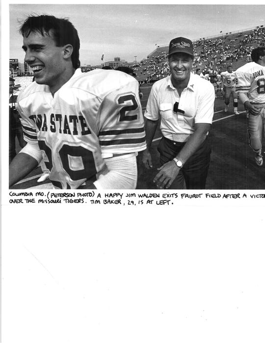 Jim Walden after beating Missouri