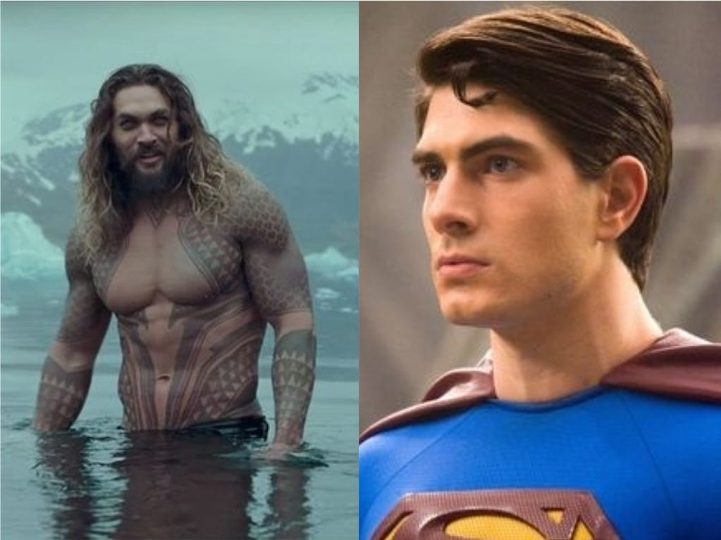 Yes, Aquaman and Superman played high school soccer together in Iowa