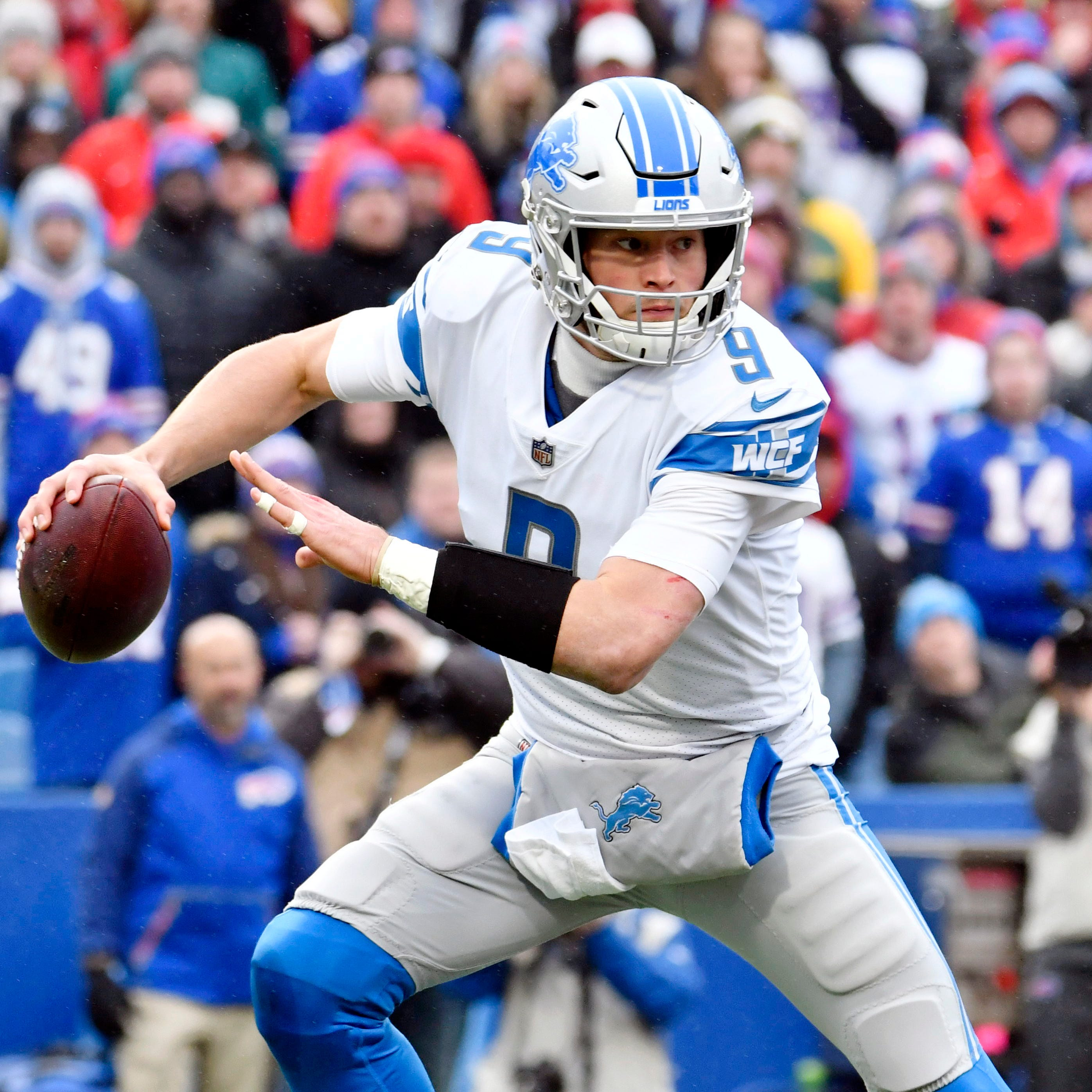The Detroit Lions are now officially out of the...