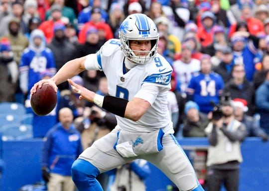 The Detroit Lions are now officially out of the playoff hunt after losing to the Buffalo Bills. And with another loss, they have dropped yet again in Dave Birkett's NFL power rankings.