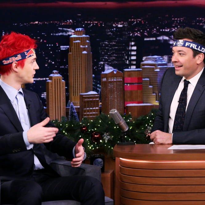 Internet personality Tyler 'Ninja' Blevins talks...