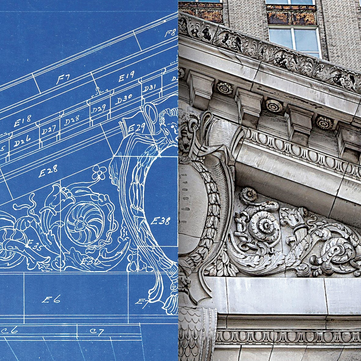 Detroit train station architectural drawings sat in rotting trailers for years