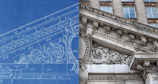 Detroit Train Station Blueprints Rotted For Years In Trailer