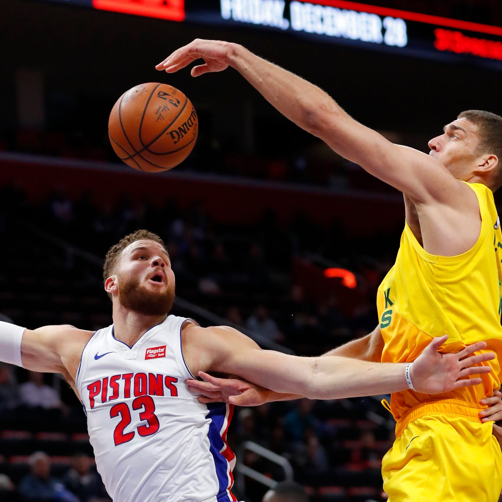 Pistons' Blake Griffin on turnovers: 'I was unbelievably bad' in loss