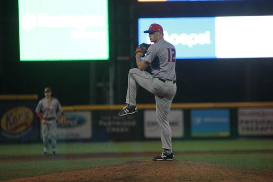 Chris Dula was drafted by the Rangers before coming to the USPBL.