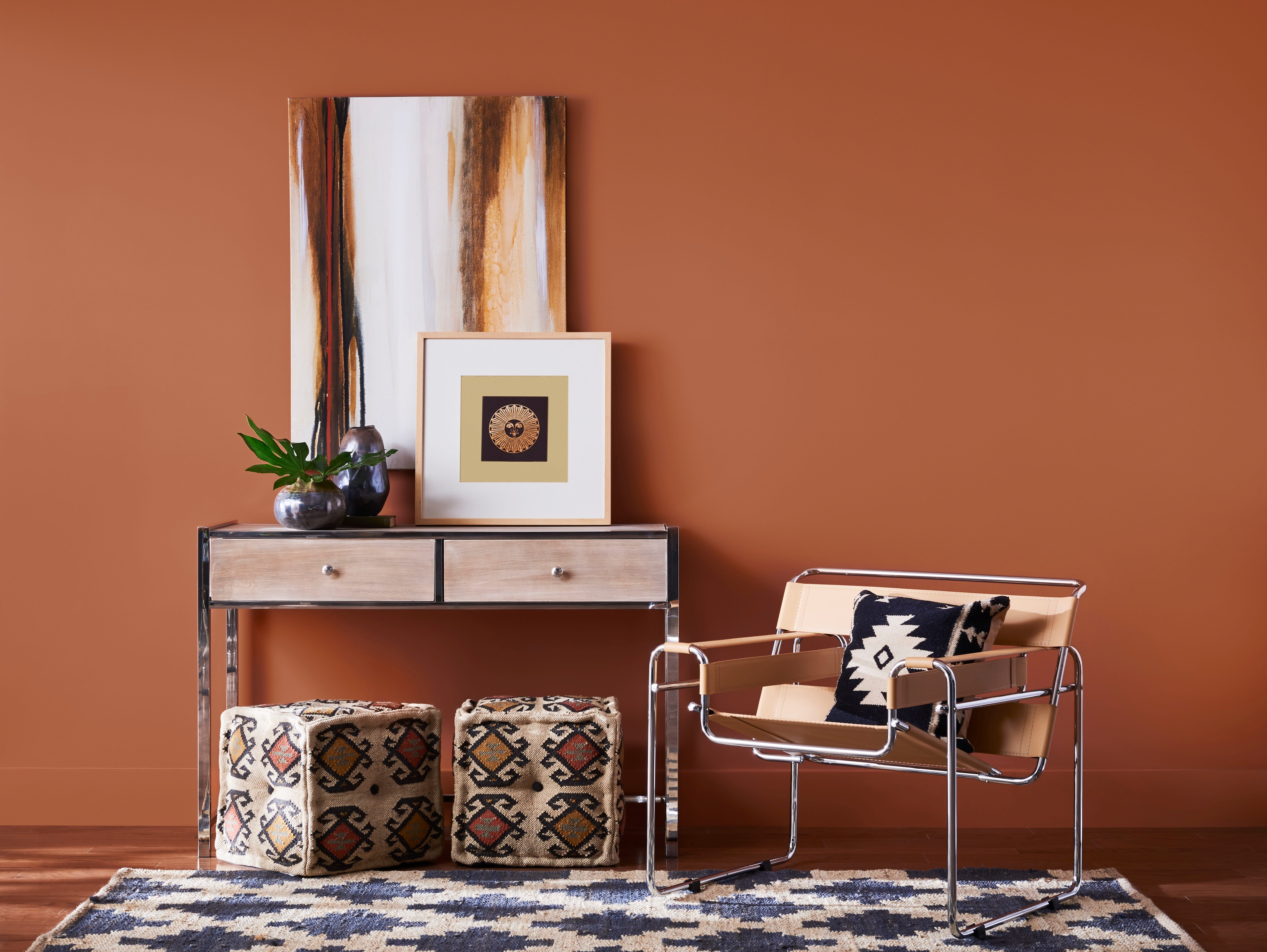 IN: Cavern Clay, Sherwin-Williams' 2019 Color of the Year.
