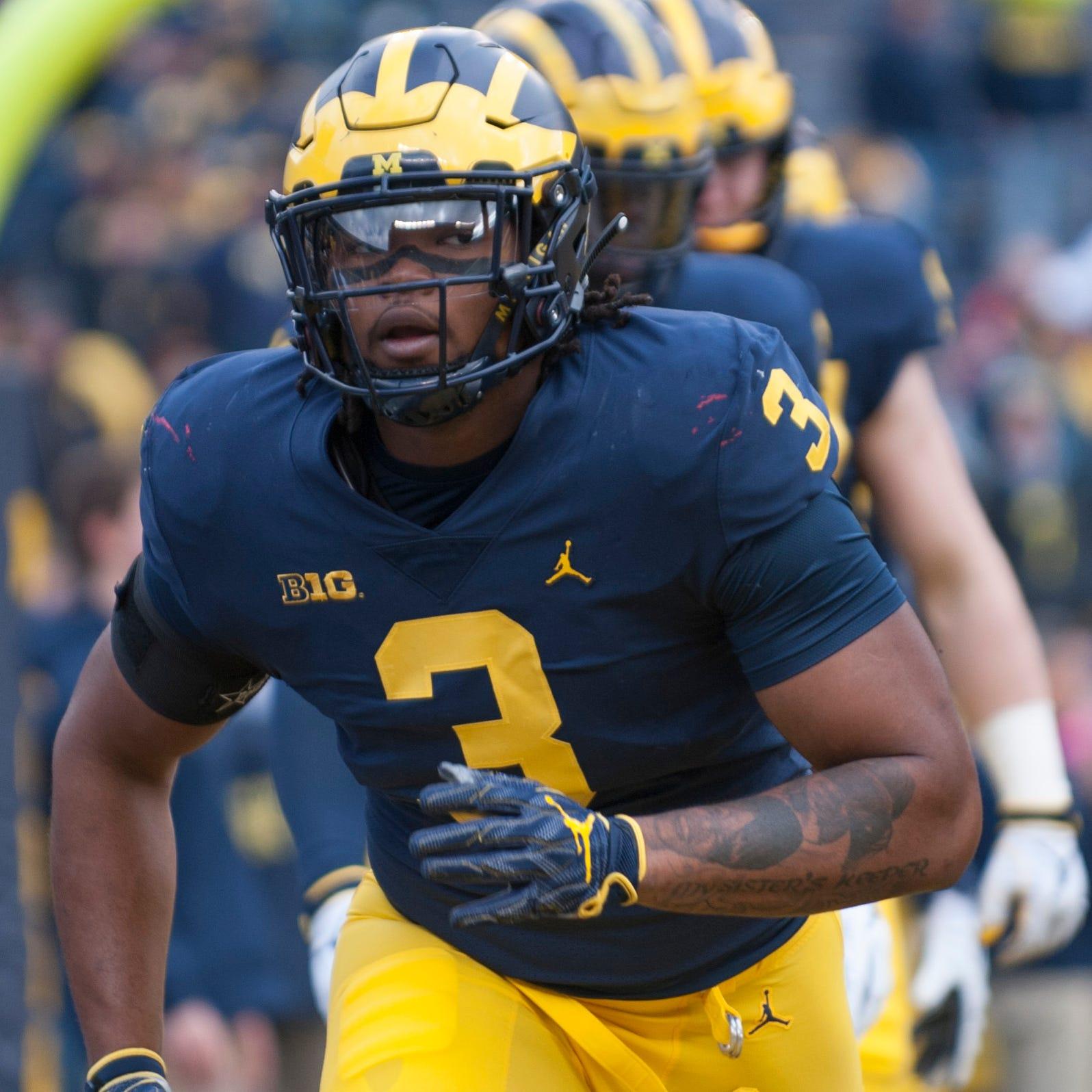 Michigan defensive lineman Rashan Gary reportedly...