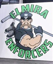 The Elmira Enforcers team logo