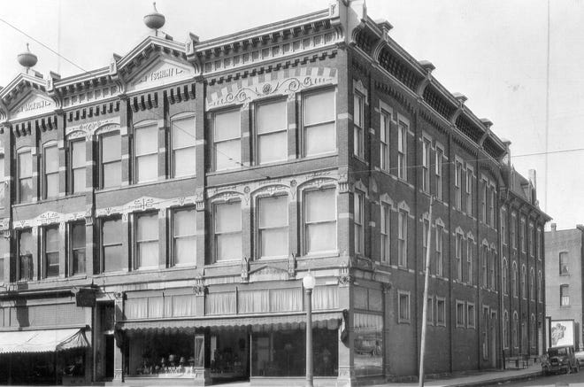 One of Fremont's best known and longest-serving businesses was Tschumy's Furniture Store on South Front Street.