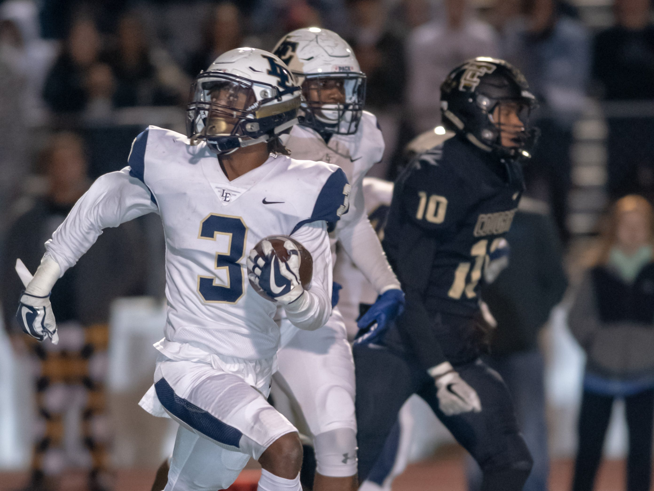 Little Elm (Texas) defensive back Brandon Crossley (3) committed to join the CSU football team on Monday. He chose the Rams over multiple Power 5 offers.