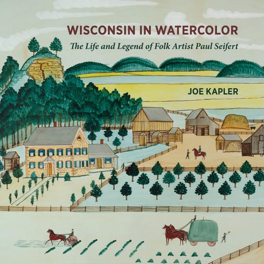 Wisconsin In Watercolor