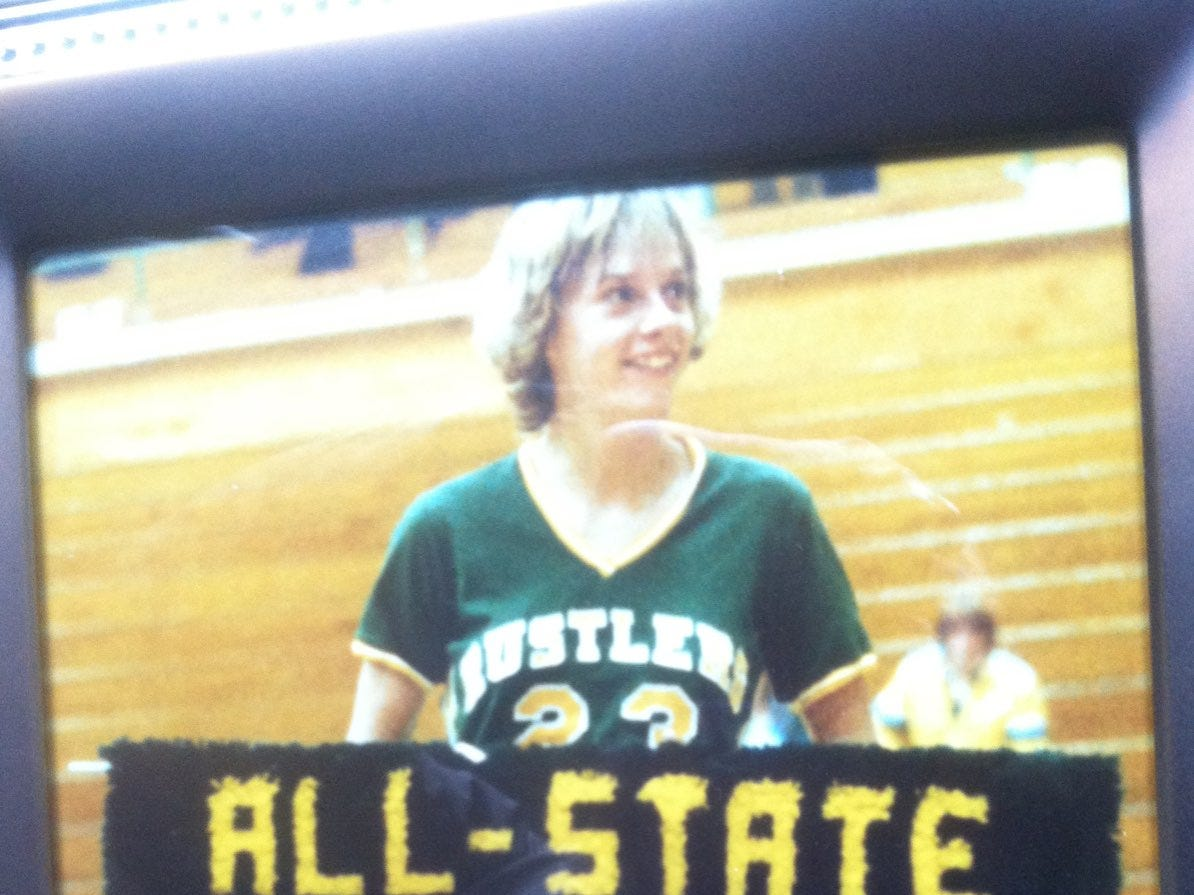 Sarah Habel played on two state championship teams during her brilliant C.M. Russell High career.