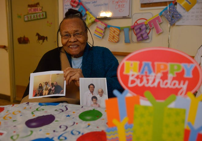 Cleo Miles celebrated her 100th birthday on Tuesday  with friends at the Hosanna Home.