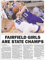 The Fairfield girls won an eighth state championship two seasons ago.