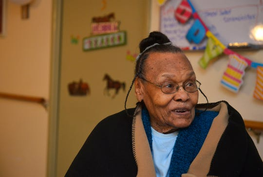 Cleo Miles celebrated her 100th birthday on December 18, 2018, with friends at the Hosanna Home.