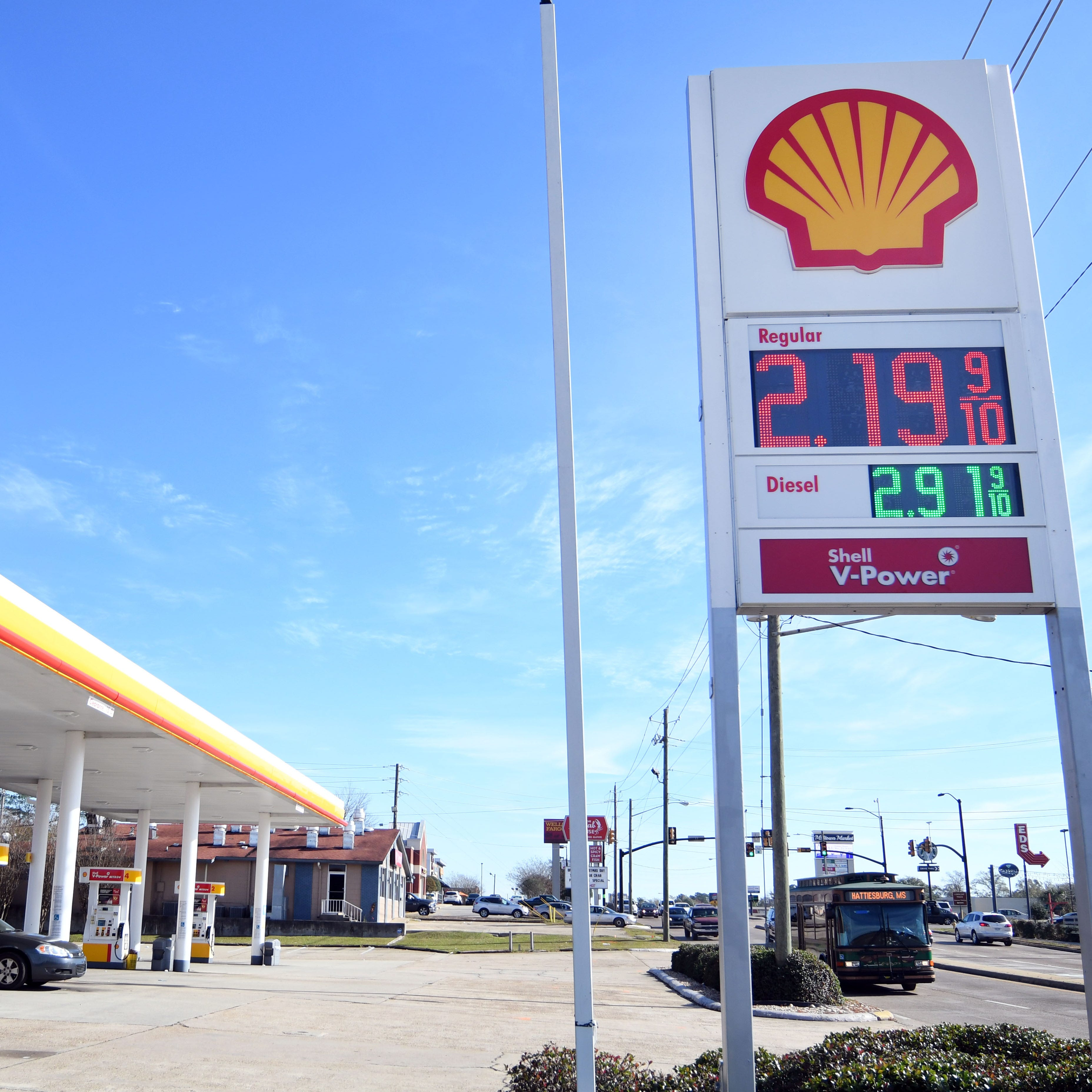 Mississippi motorists see sweet gasoline prices, unless you're in Hattiesburg