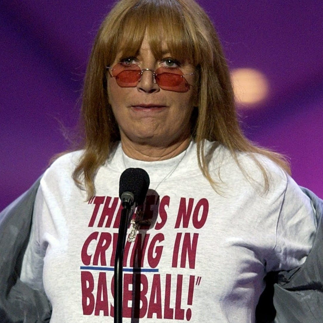 Penny Marshall rallied ensemble cast for Indiana shoot of 'A League of Their Own'