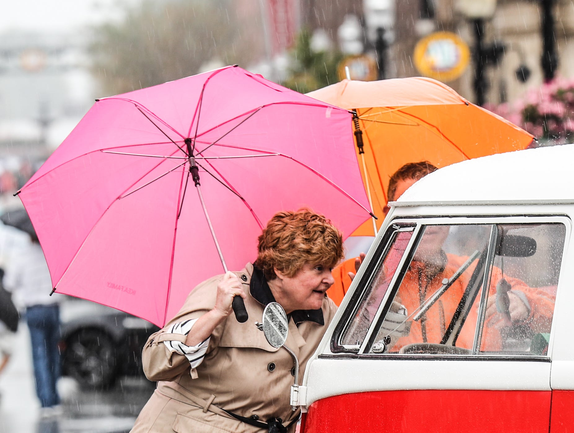 Car lovers braved the rain to see hundreds of cars during the 2018 Artomobilia Car Show in Carmel Ind. on Sat. Aug 25, 2018.