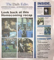 Shortridge High School's newspaper The Daily Echo.