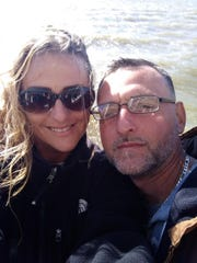 Andrea Manning and her fiance GregoryRaley