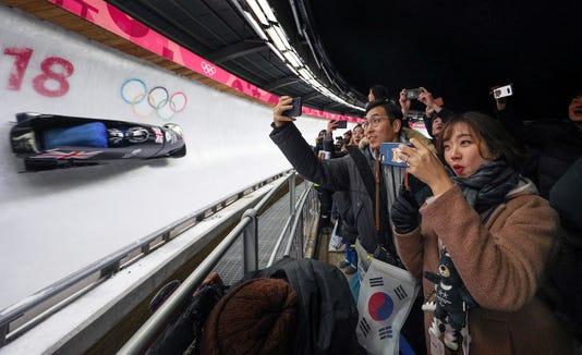 Olympics Bobsleigh