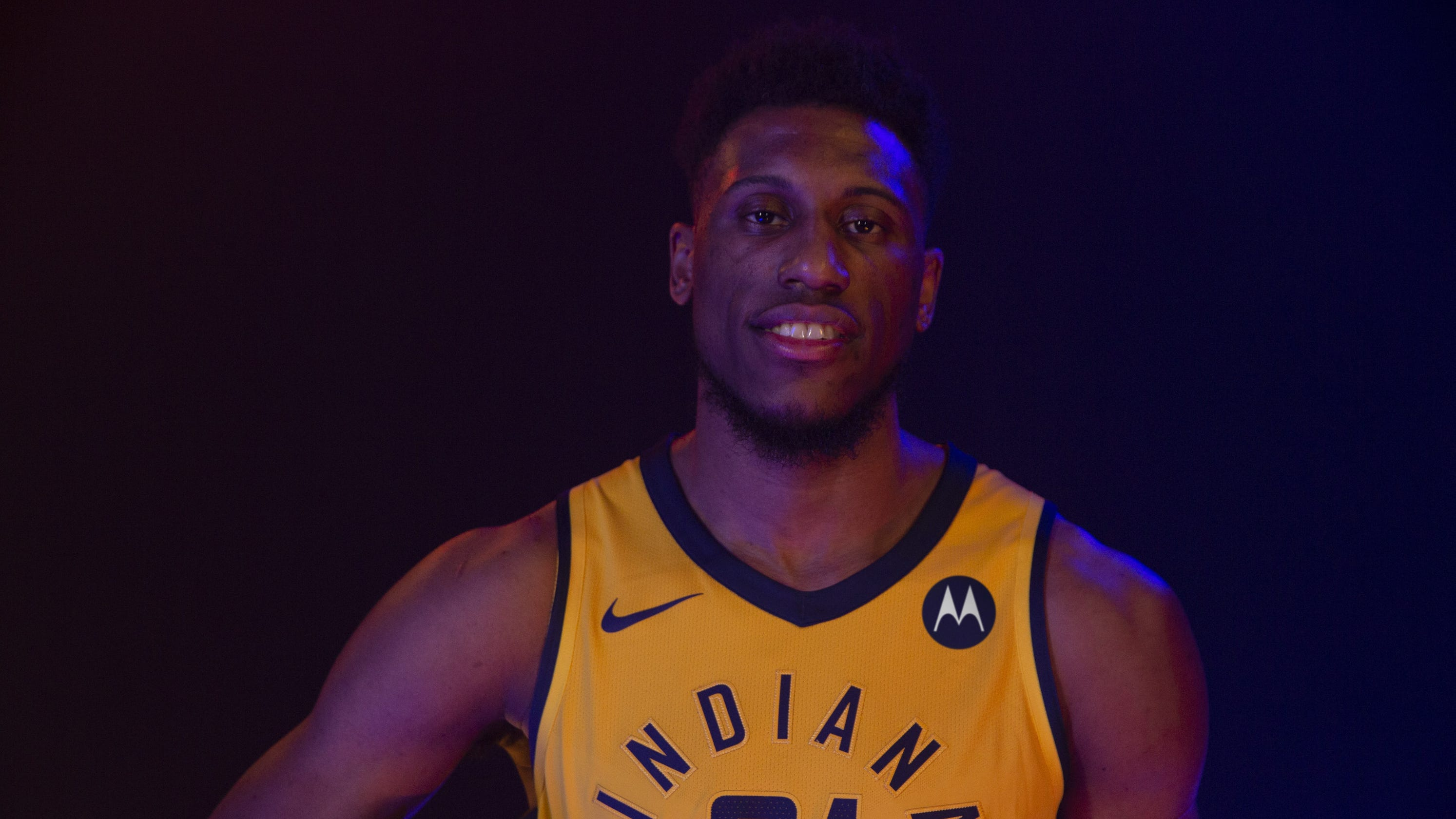 043b7d4978fd Indiana Pacers will debut Motorola logo patch on jerseys
