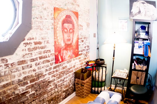 The chiropractic space inside Body Mind Realign, 111 N. Central, in Knoxville, Tennessee on Tuesday, December 18, 2018. George is opening a spa in West Knoxville along with her chiropractic business which will focus on alternative medicines.