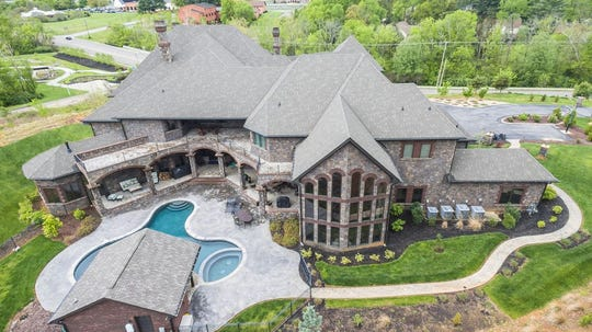 The 7-bedroom, 12-bath, 15,000-square-foot residence at 11344 Sonja Dr. is listed at $5.2 million. Many refer to it as the Farragut 'castle.'