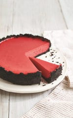 "Red Velvet Cheesecake from ""Instantly Southern"" cookbook"