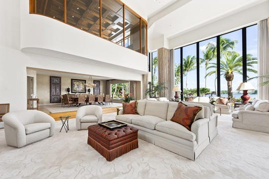 The custom-designed mansion of sports magnate John W. Henry is now for sale in Boca Raton, Florida priced at $25 million.