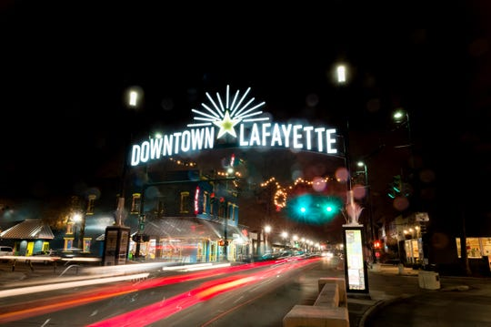 Downtown Lafayette, LA. 12/14/18