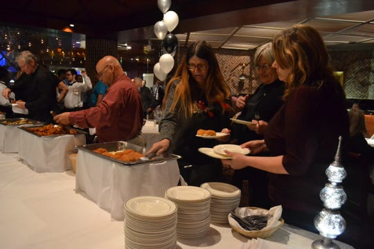 Cypress Bayou Casino celebrated 25 years with a Dec. 18 reception at Mr. Lester's Steakhouse.