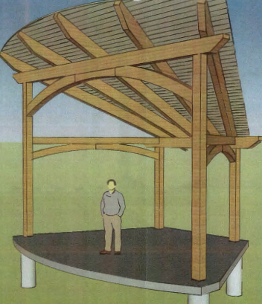 Fowlerville Pavilion Drawing