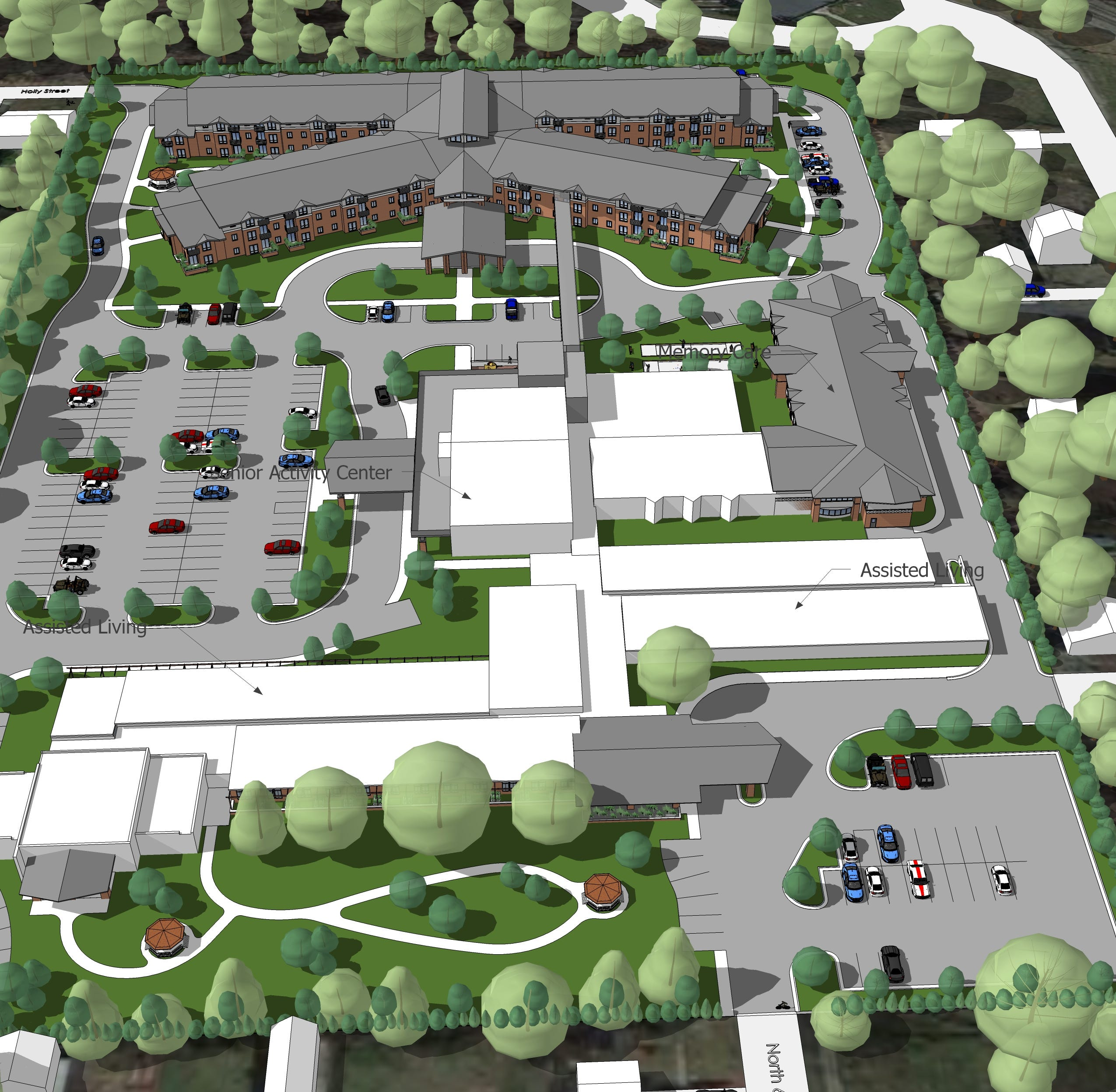 Proposed $34M senior housing at shuttered Lindbom Elementary in Brighton moves forward