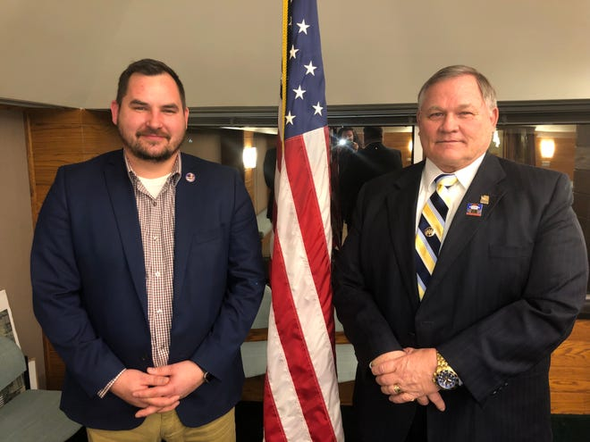 Joe Riker and Bob Bezotte were appointed to the veterans services committee.