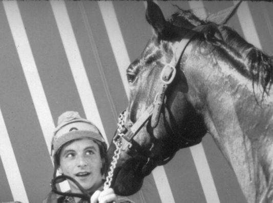 Ron Franklin with Spectacular Bid