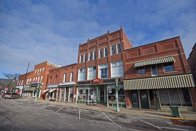The Plymouth Historic District wasadded to National Register of Historic Places.